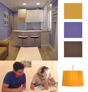 Apartamento de una habitación en edificio Embajadores