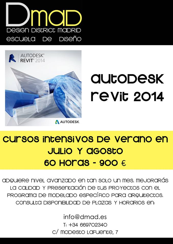 Escuela Dmad_Verano  Curso Autodesk Revit