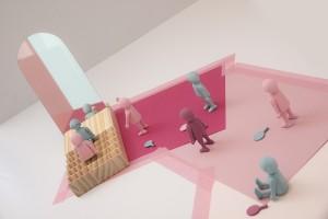 Imagen realizada por alumnos de Dmad para el módulo de Interior Styling.